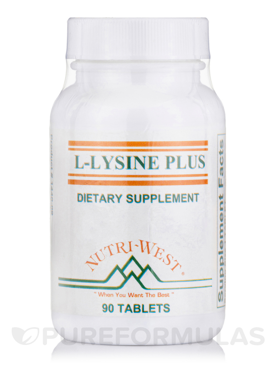 L-Lysine-Plus - 90 Tablets