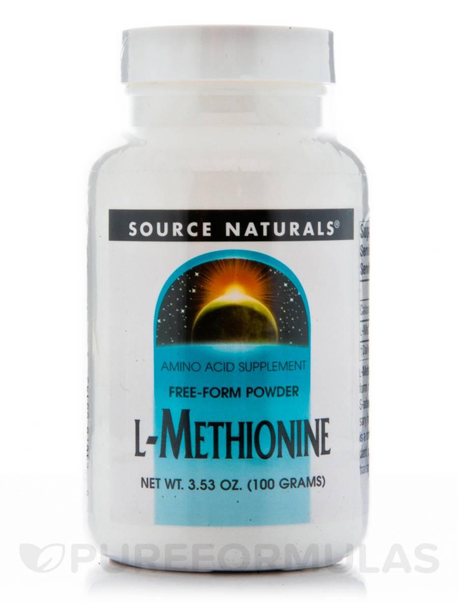 L-Methionine Powder - 3.53 oz (100 Grams)