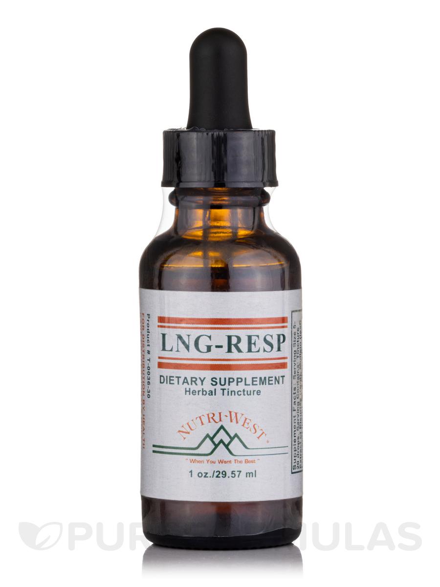 LNG-RESP (Herbal Tincture) - 1 oz (29.57 ml)