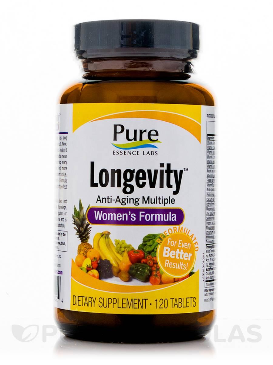 Longevity Women's Formula - 120 Tablets