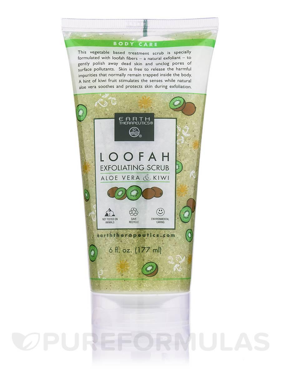 Loofah Exfoliating Scrub - Aloe Vera & Kiwi - 6 fl. oz (177 ml)