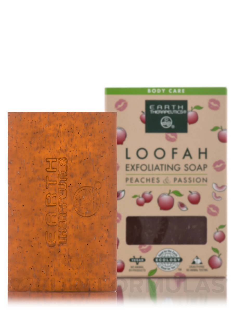 Loofah Exfoliating Soap Peaches & Passion - 4.2 oz (120 Grams)