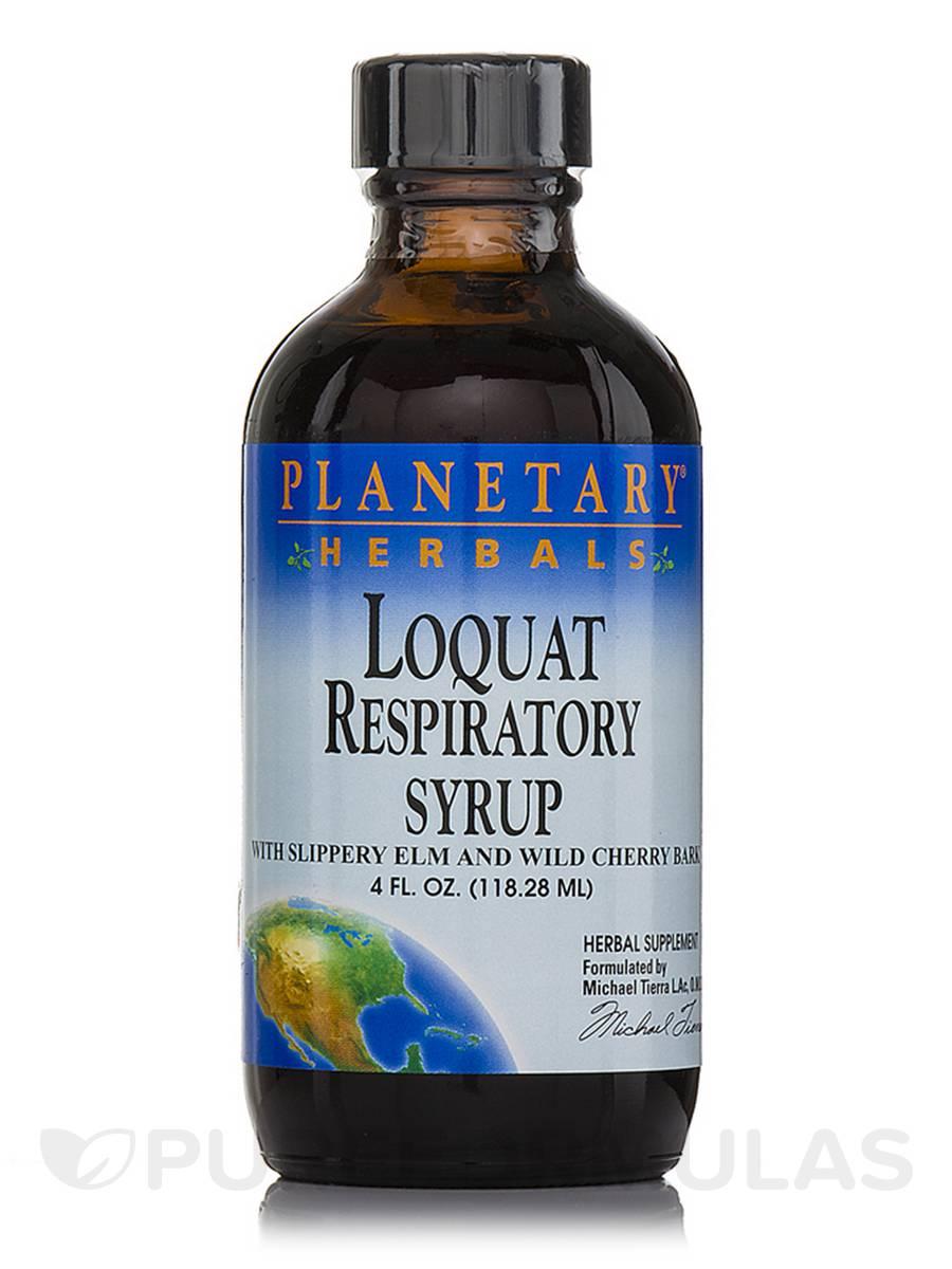 Loquat Respiratory Syrup - 4 fl. oz (118.28 ml)