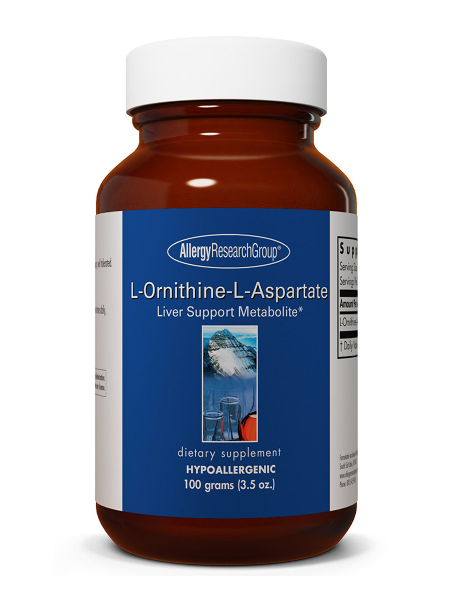 L-Ornithine-L-Aspartate Powder - 3.5 oz (100 Grams)
