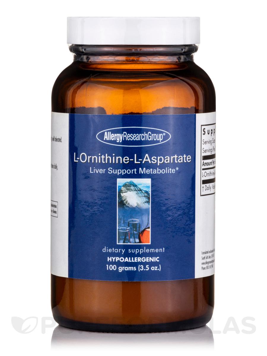 L-Ornithine-L-Aspartate Powder - 3.5 oz (100 Grams)