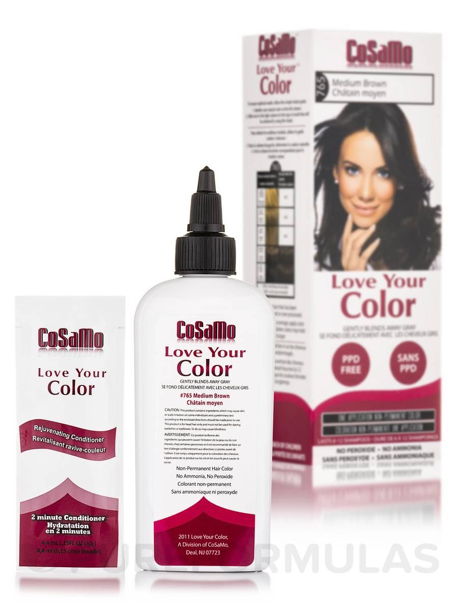 Love Your Color #765 Medium Brown - 3 fl. oz