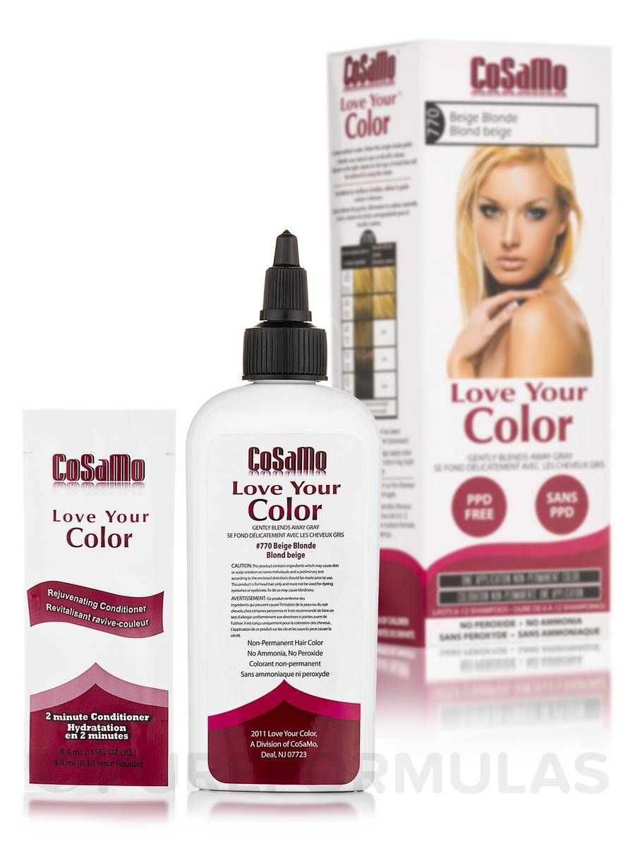 Love Your Color 770 Beige Blonde 3 Fl Oz