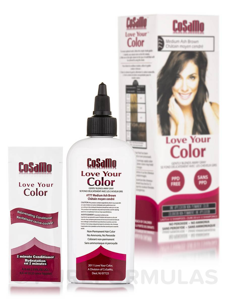 Love Your Color #777 Medium Ash Brown - 3 fl. oz