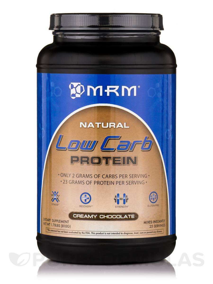 Low Carb Protein Creamy Chocolate - 1.78 lbs (810 Grams)