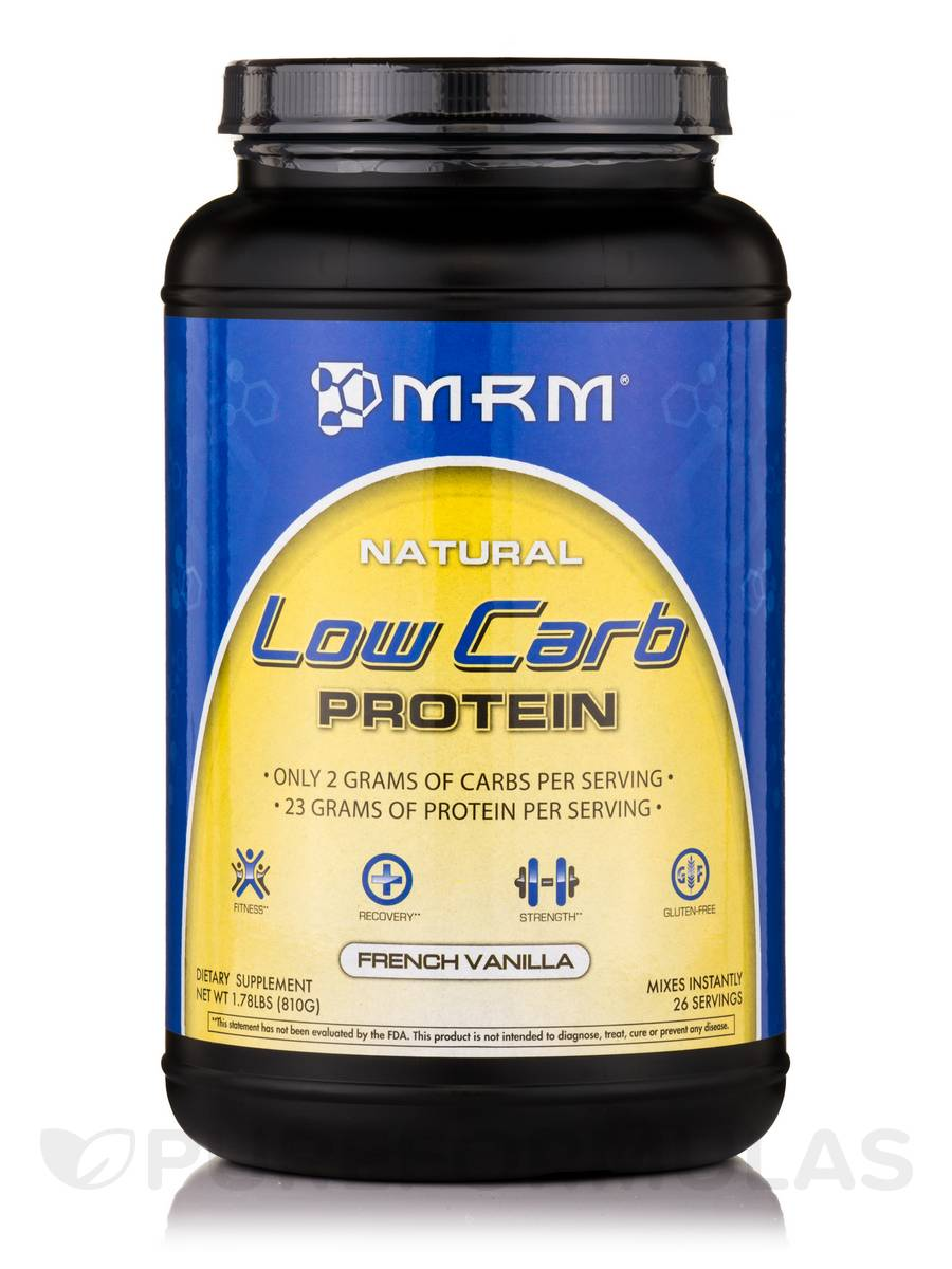 Low Carb Protein French Vanilla - 1.78 lbs (810 Grams)