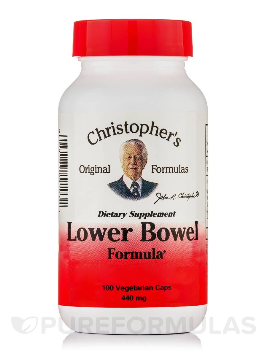 Lower Bowel Formula - 100 Vegetarian Capsules