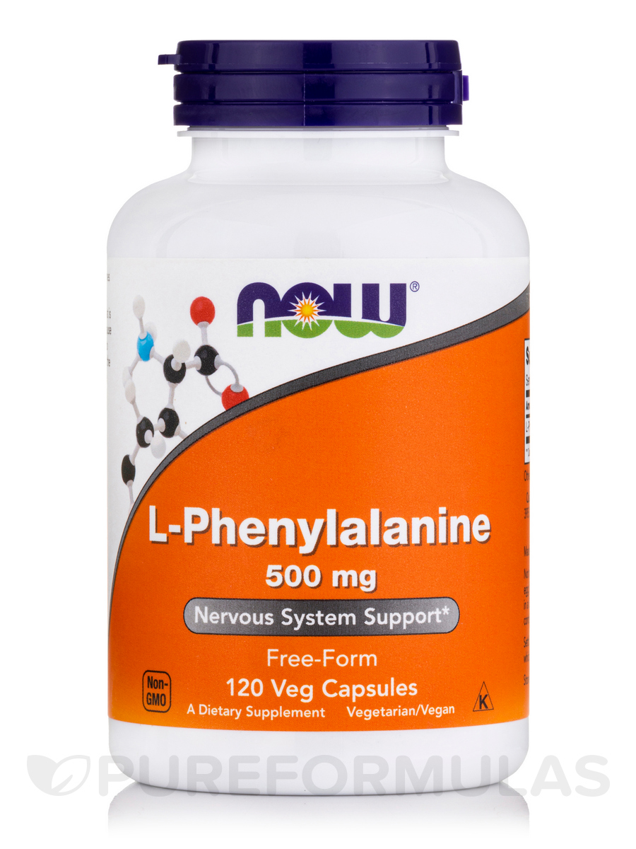 L-Phenylalanine 500 mg - 120 Veg Capsules