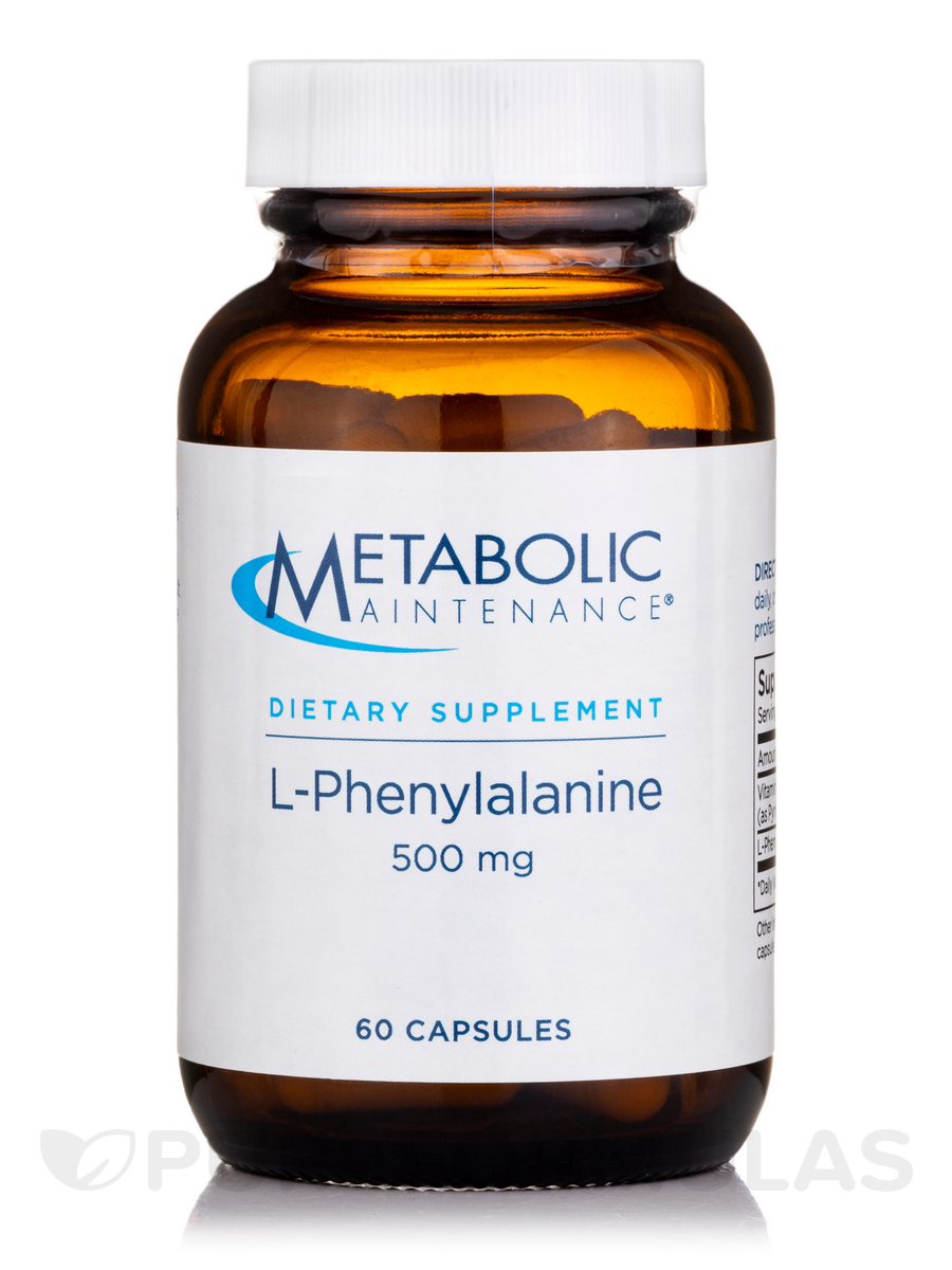 L-Phenylalanine 500 mg - 60 Capsules