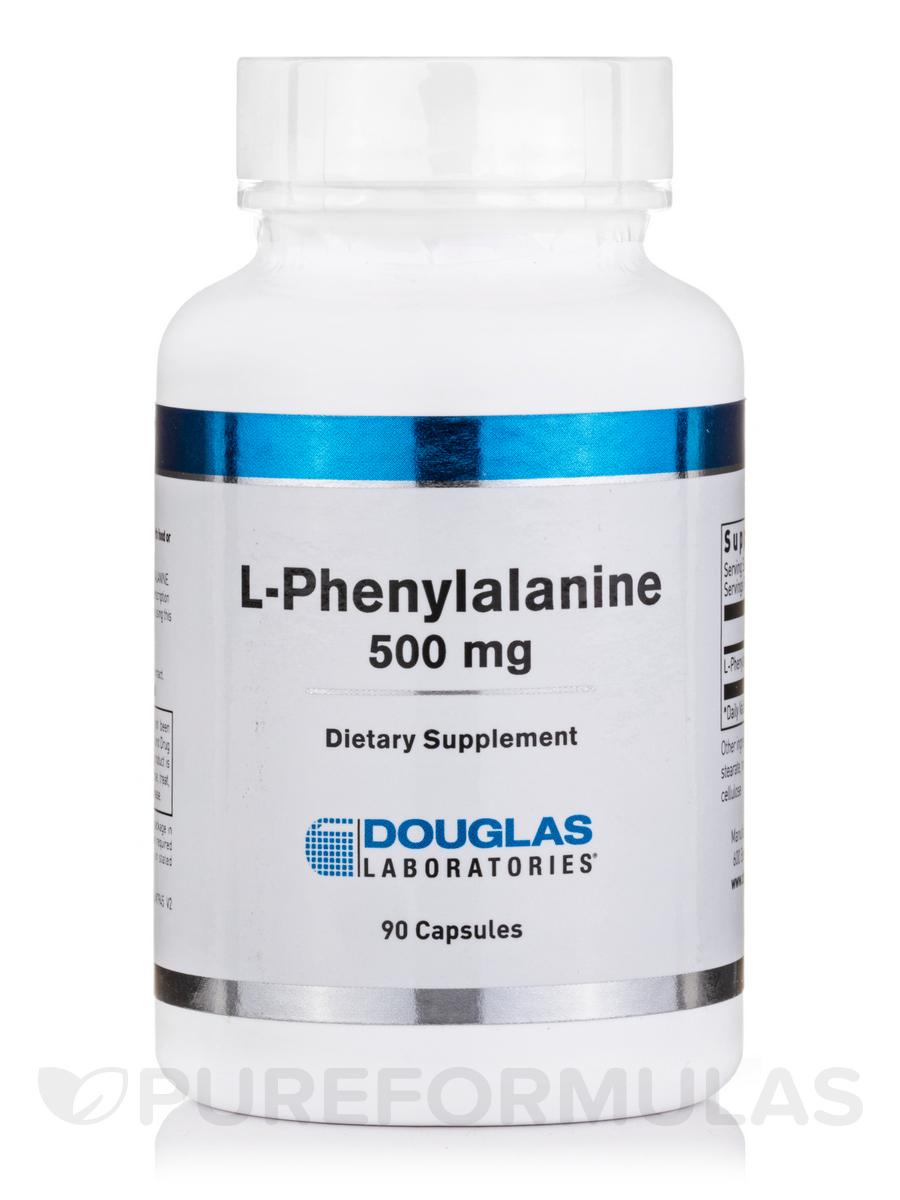 L-Phenylalanine 500 mg - 90 Capsules
