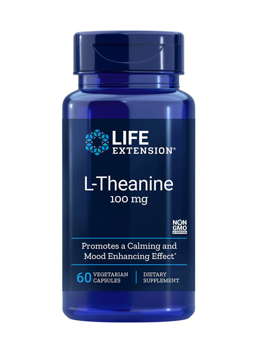 L-Theanine 100 mg - 60 Vegetarian Capsules