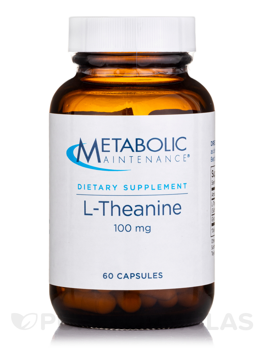 L-Theanine 100 mg - 60 Capsules