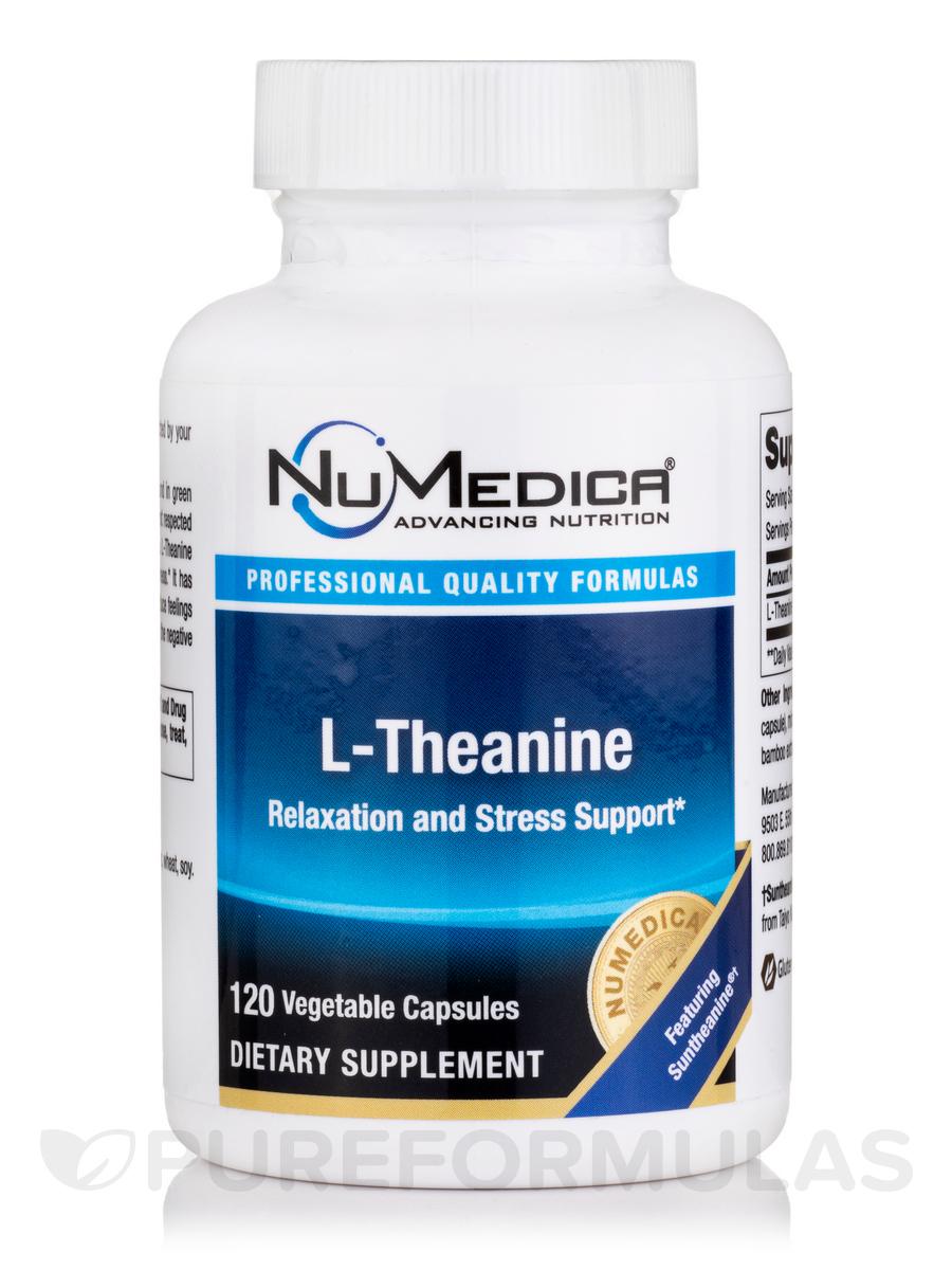 L-Theanine - 120 Vegetable Capsules