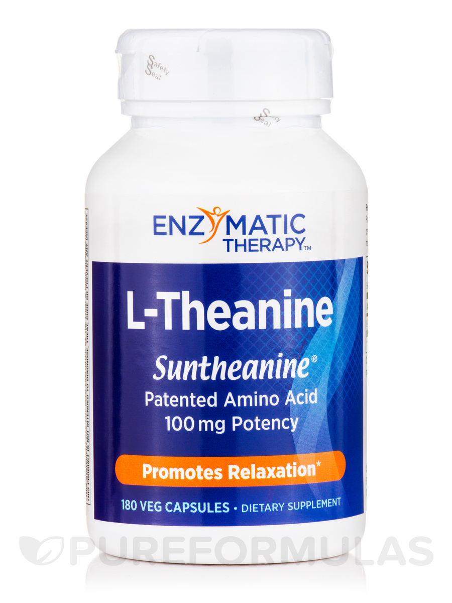 L-Theanine - 180 Vegetarian Capsules