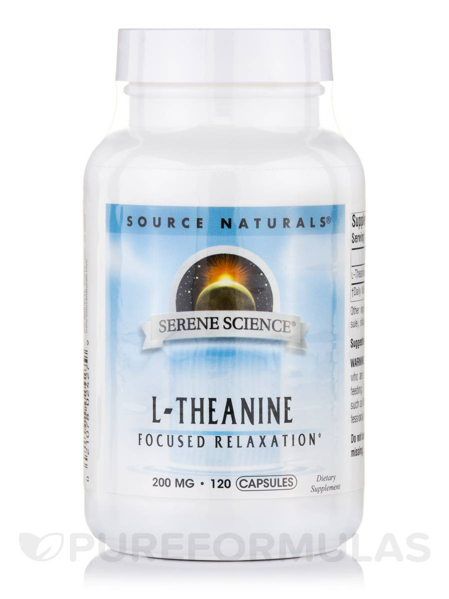 L-Theanine 200 mg - 120 Capsules