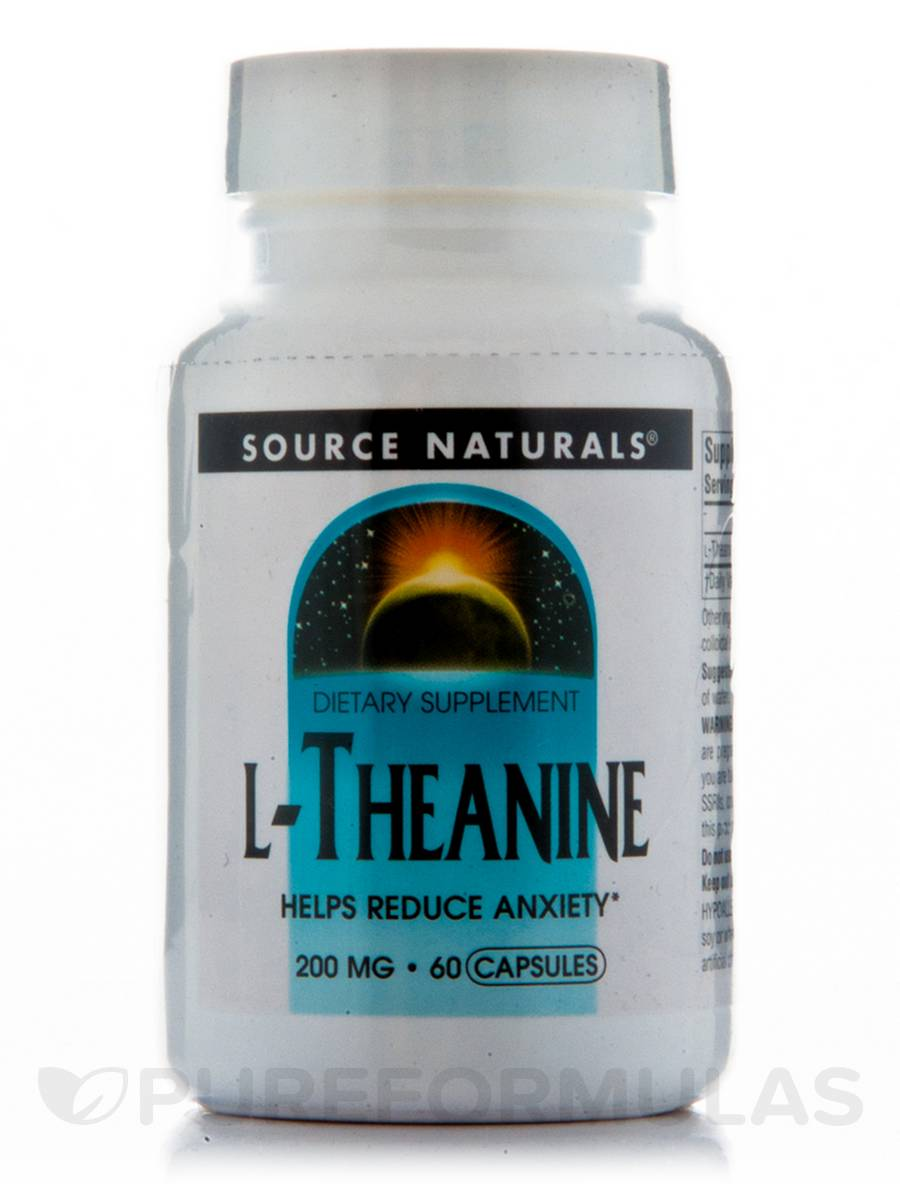 L-Theanine 200 mg - 60 Capsules