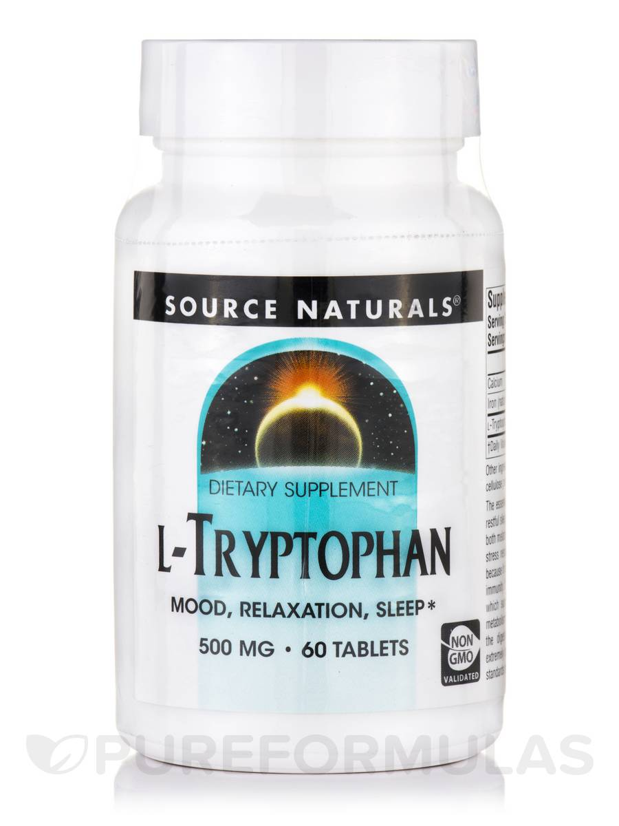 L-Tryptophan 500 mg - 60 Tablets