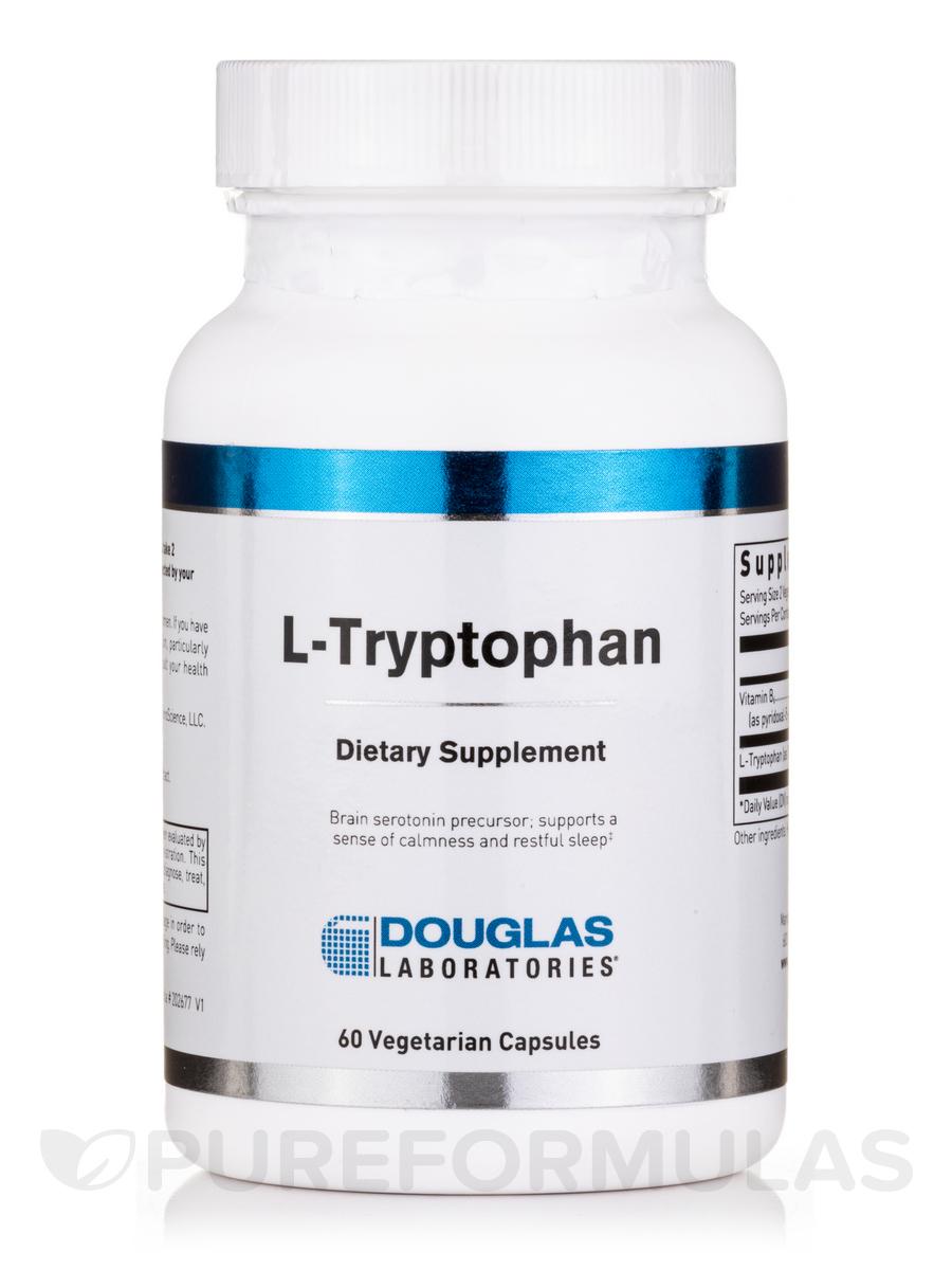 L-Tryptophan - 60 Vegetarian Capsules
