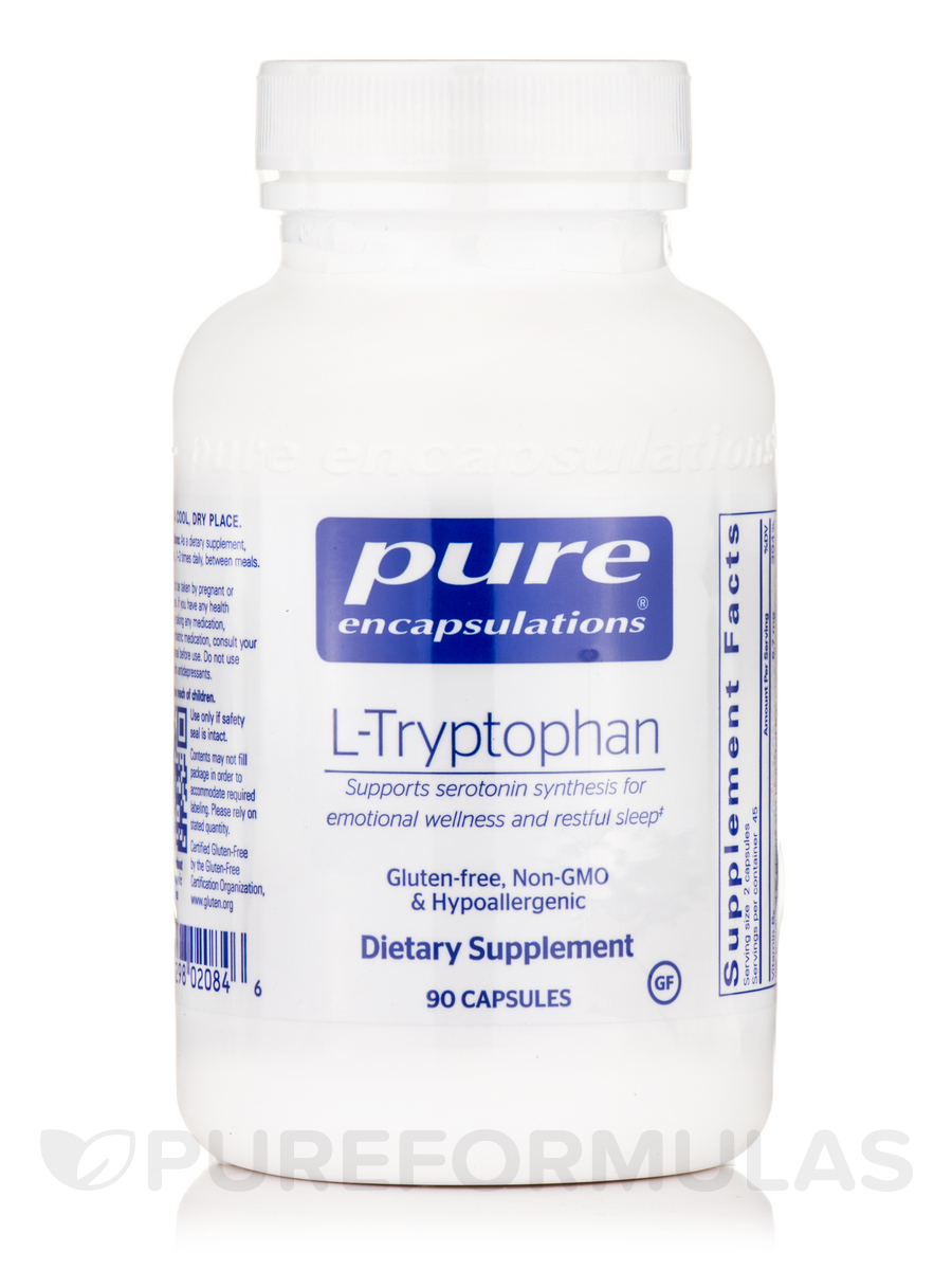 L-Tryptophan - 90 Capsules