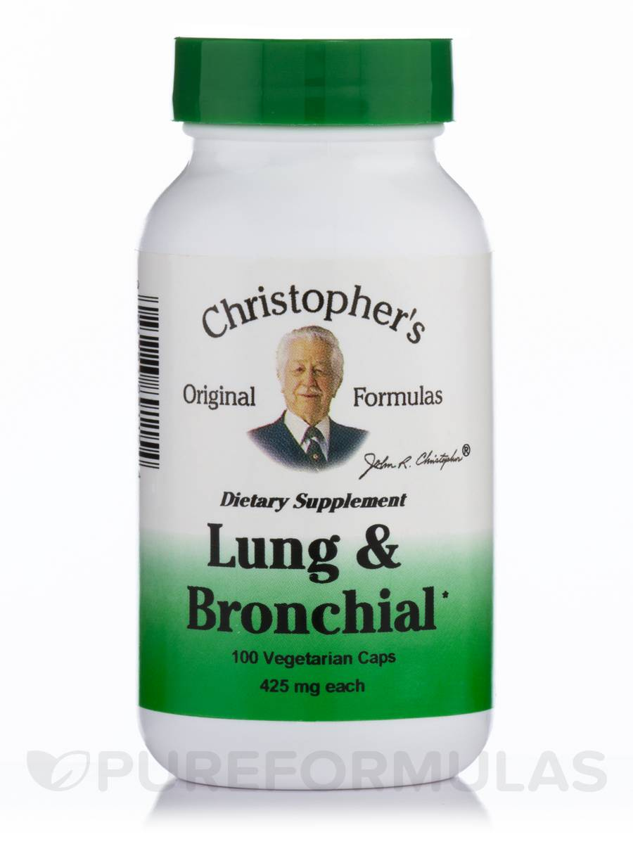 Lung & Bronchial - 100 Vegetarian Capsules