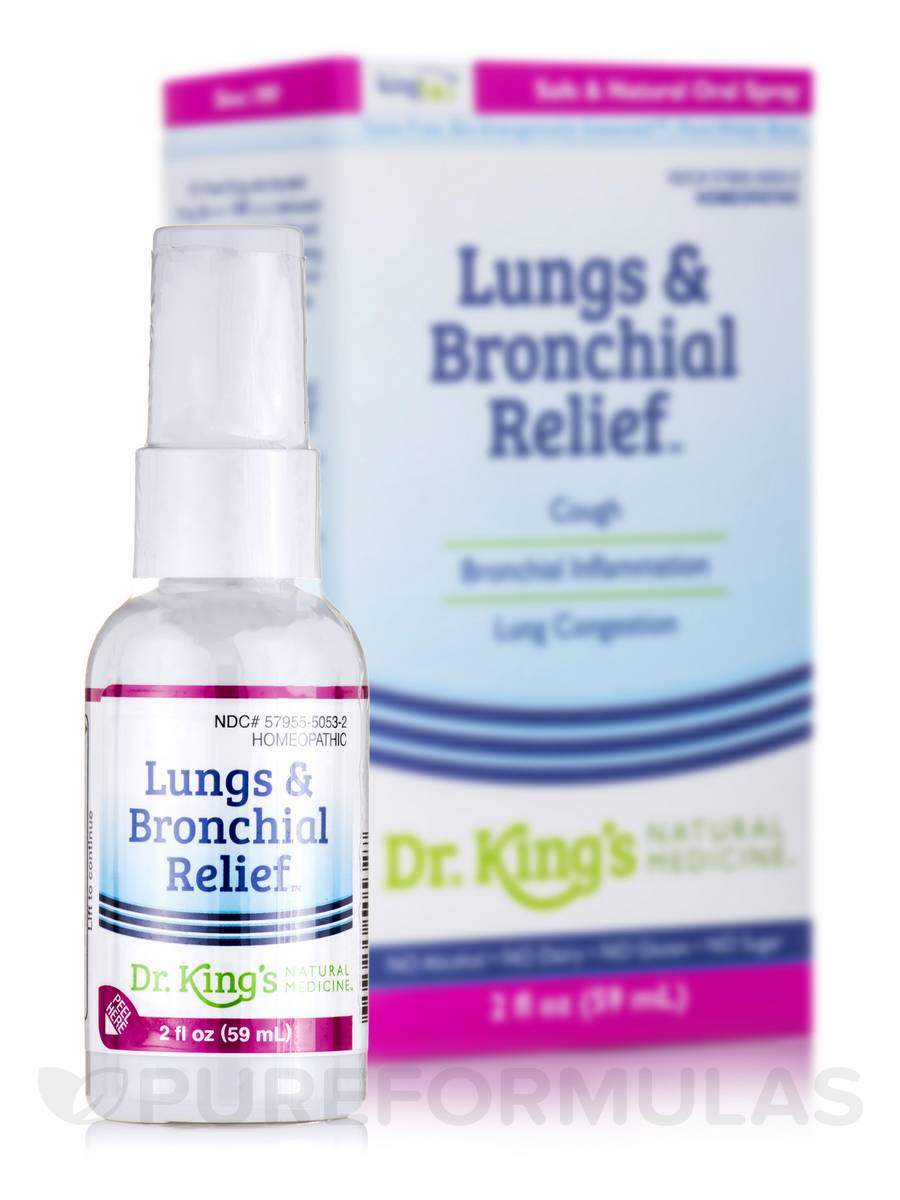 Lungs & Bronchial Relief - 2 fl. oz (59 ml)