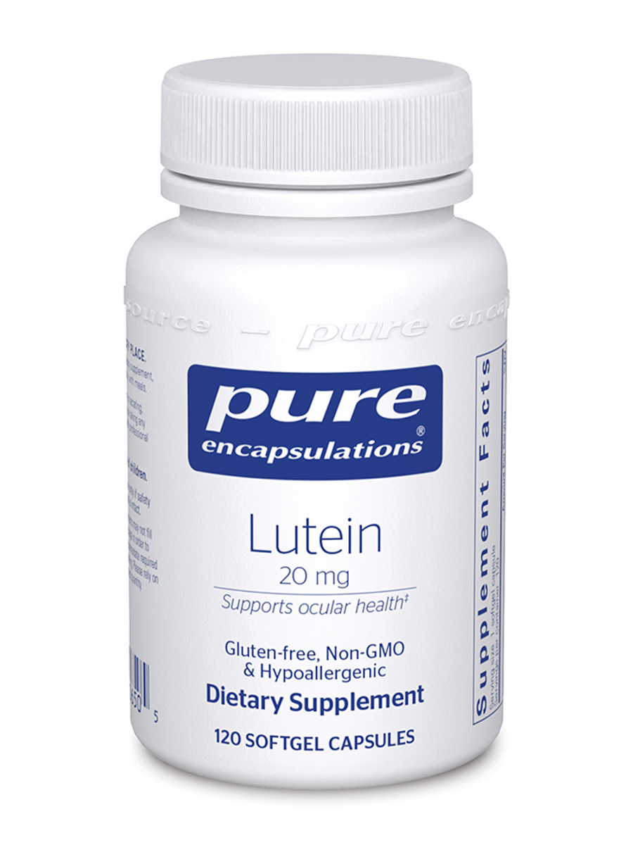 Lutein 20 mg - 120 Softgel Capsules