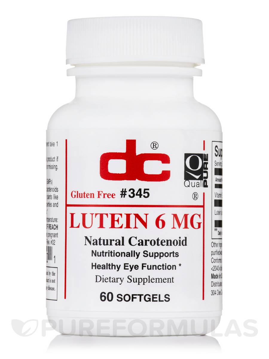 Lutein 6 mg - 60 Softgels