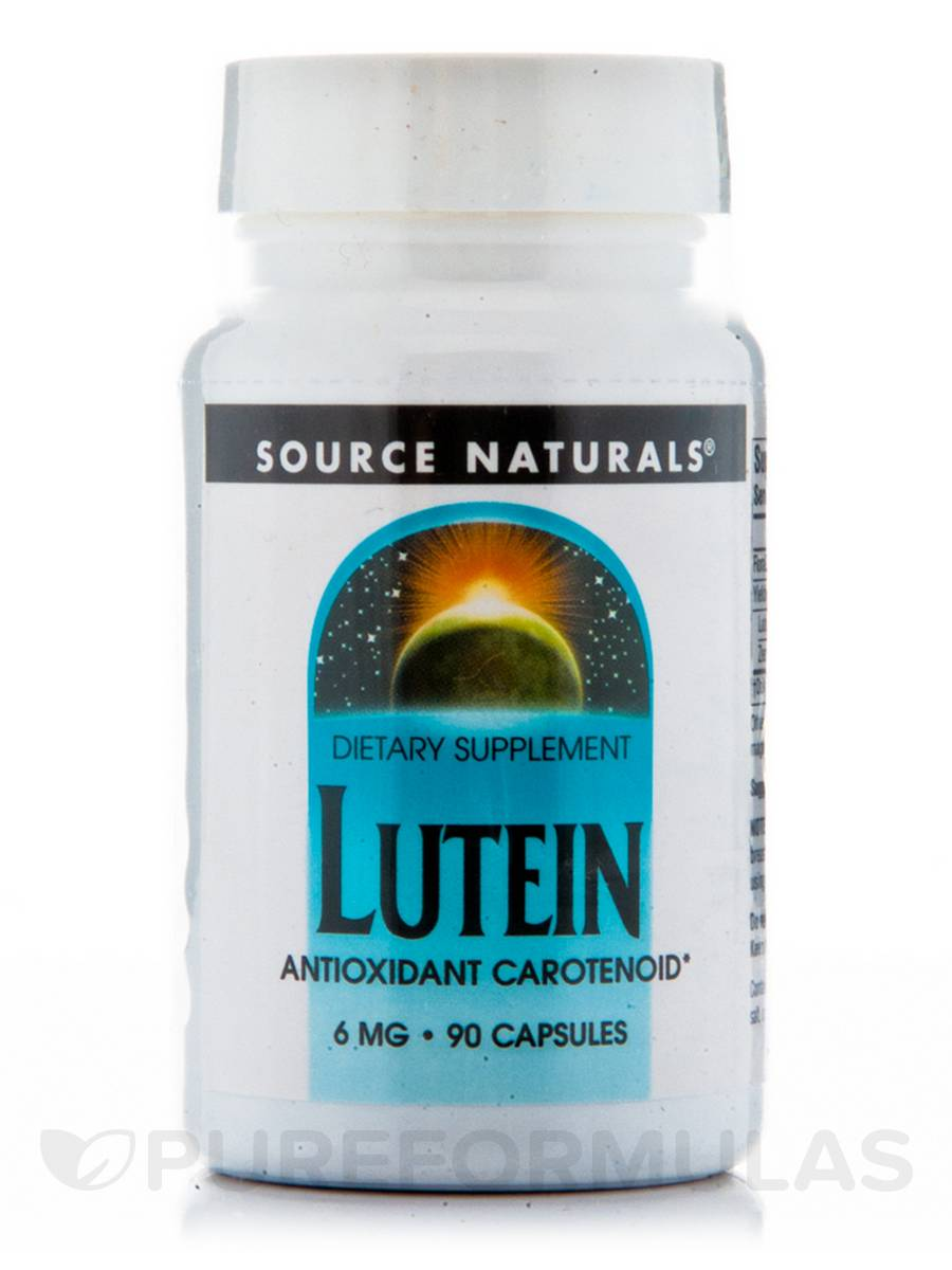 Lutein 6 mg - 90 Capsules