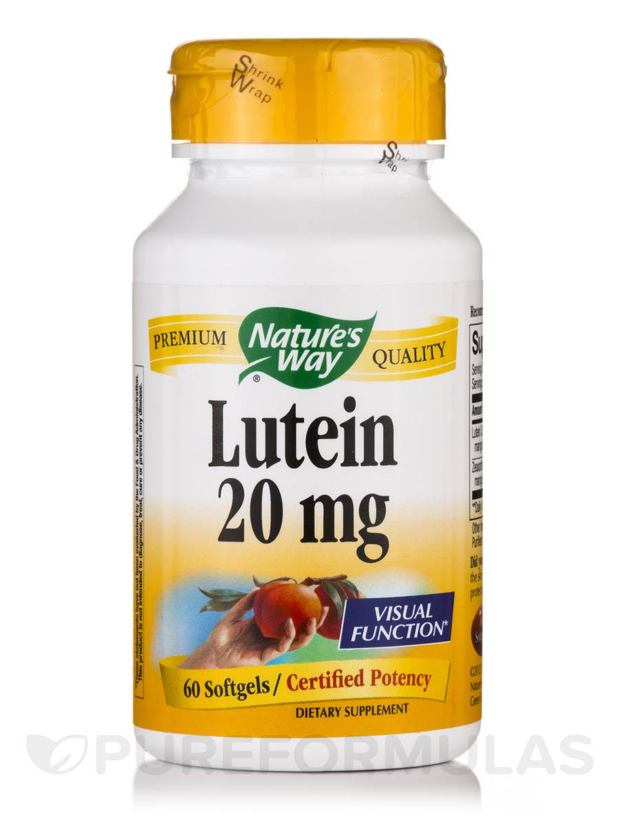 Lutein - 60 Softgels