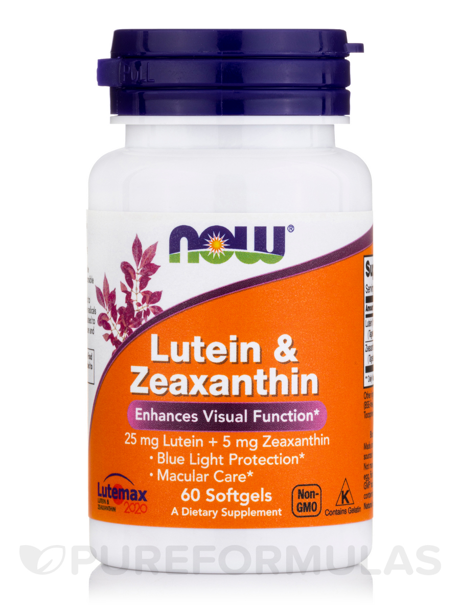 Lutein With Optilut 10 Mg: Lutein & Zeaxanthin