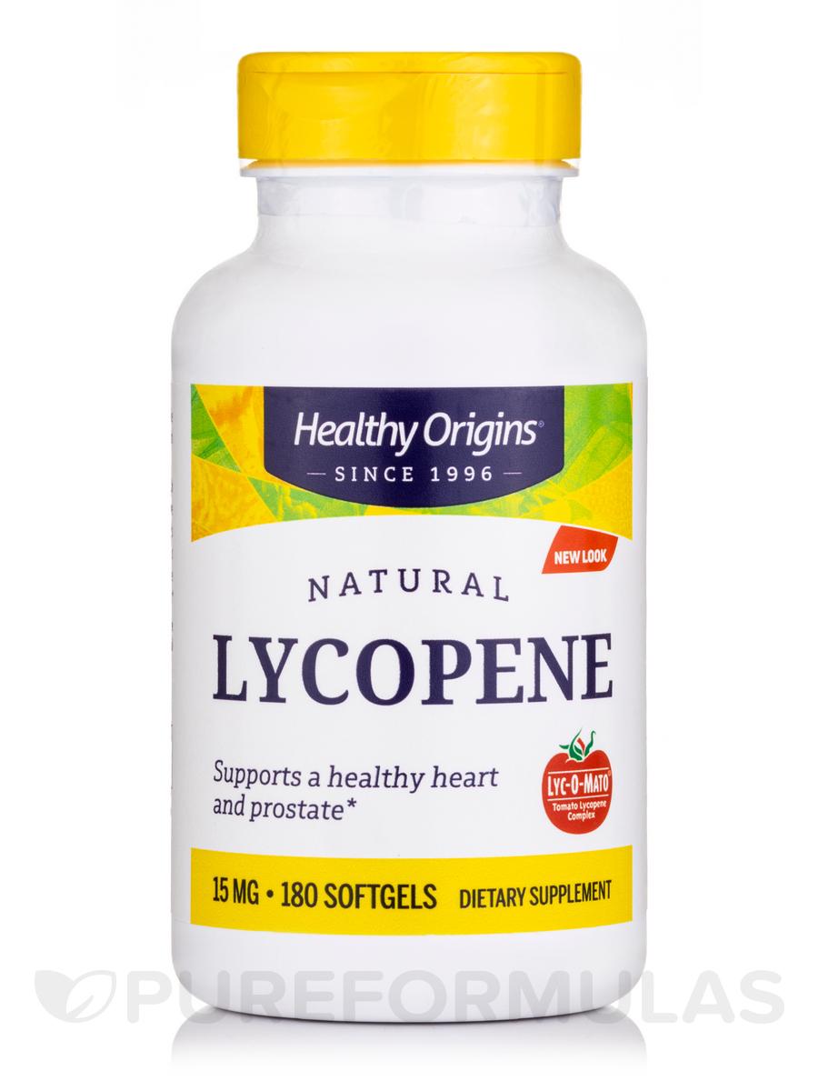 Lyc-O-Mato Lycopene Complex 15 mg - 180 Softgels