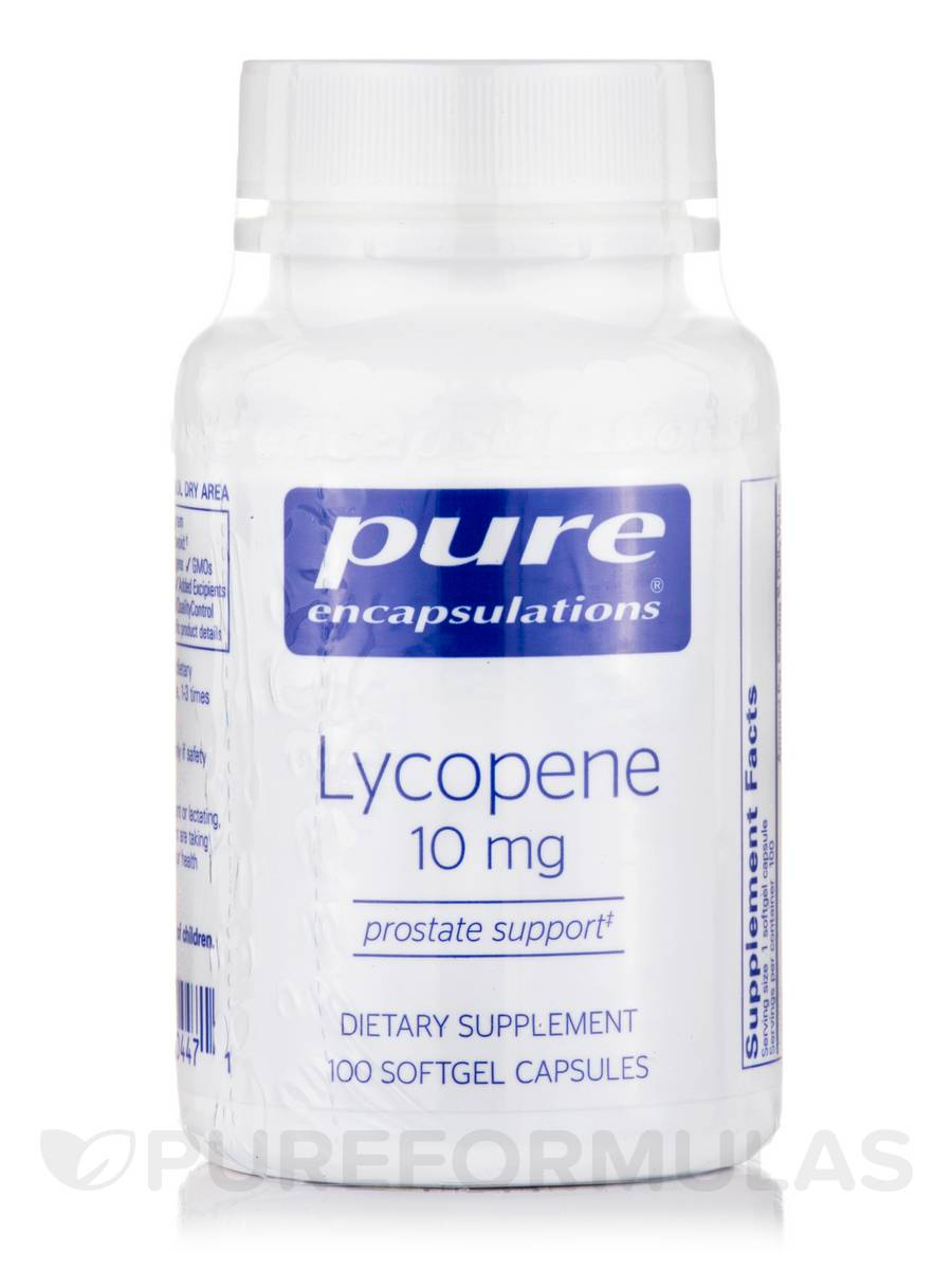 Lycopene 10 mg - 100 Softgel Capsules