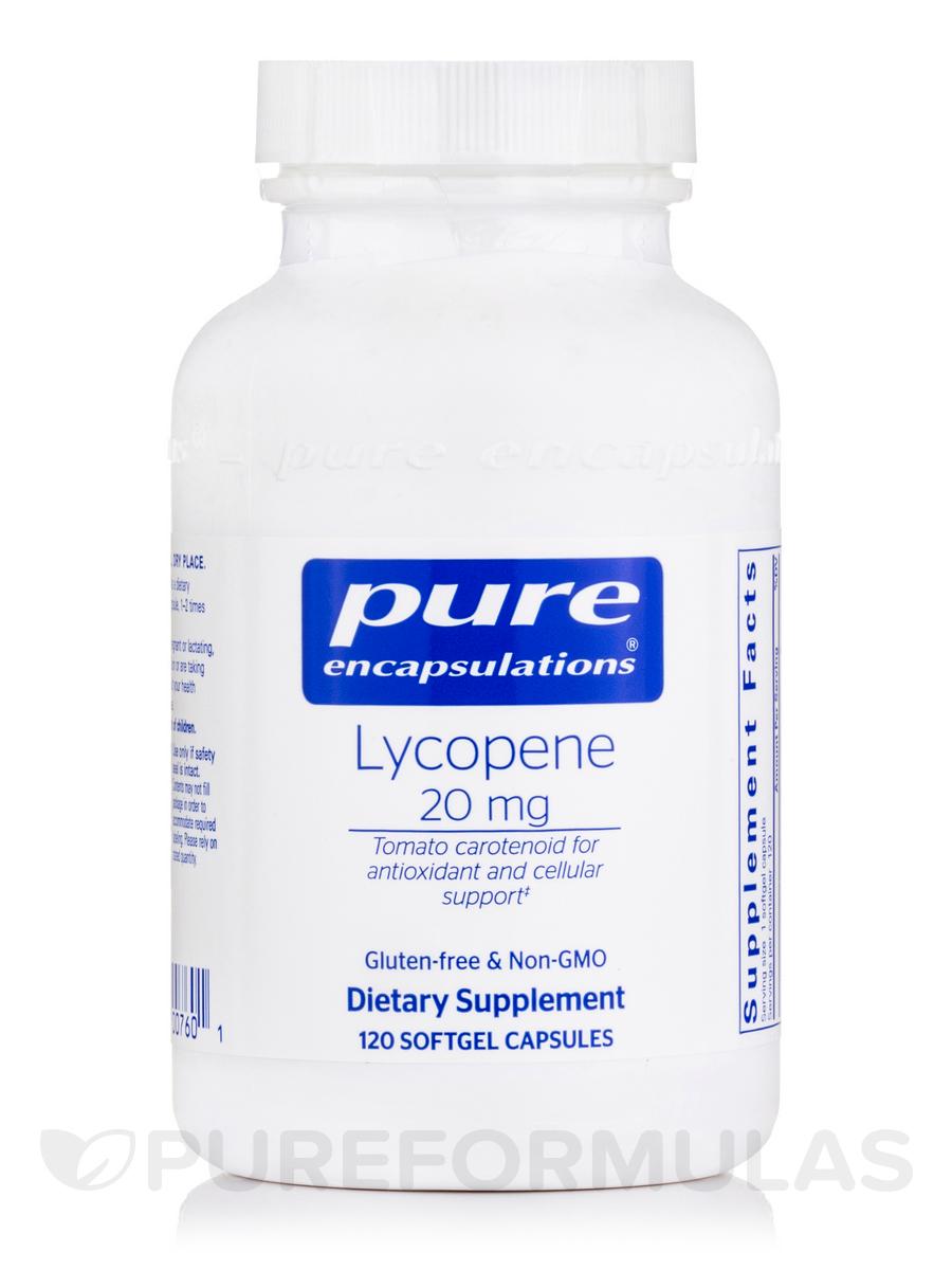 Lycopene 20 mg - 120 Softgel Capsules
