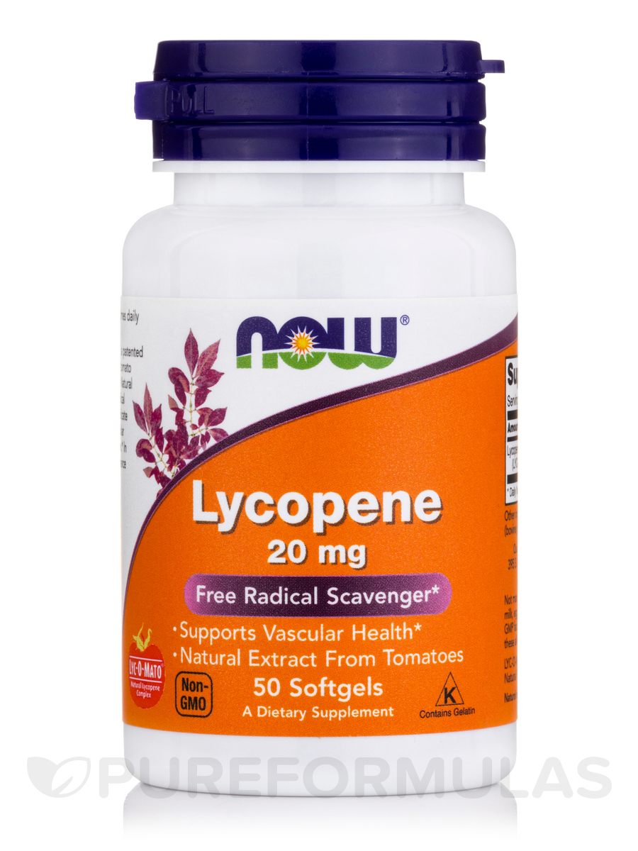 Lycopene 20 mg - 50 Softgels