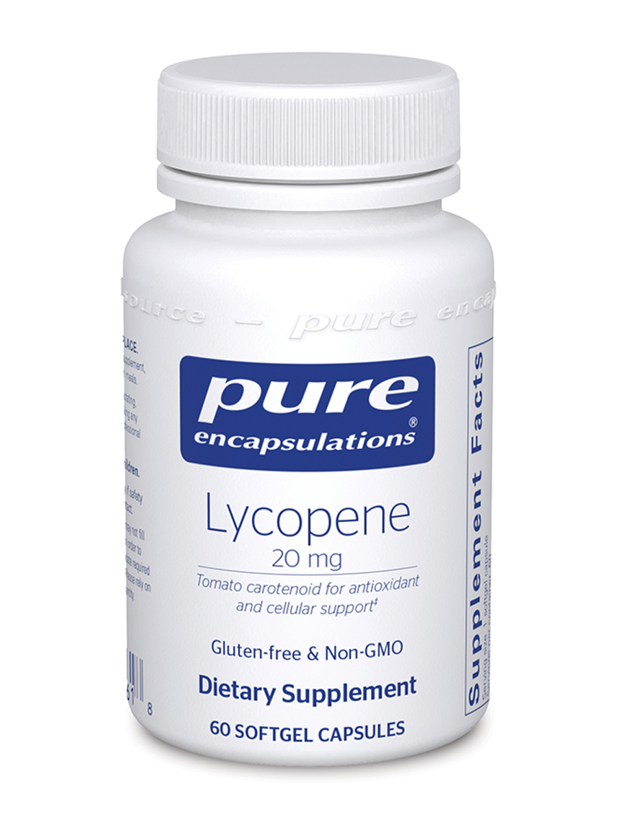 Lycopene 20 mg - 60 Softgel Capsules