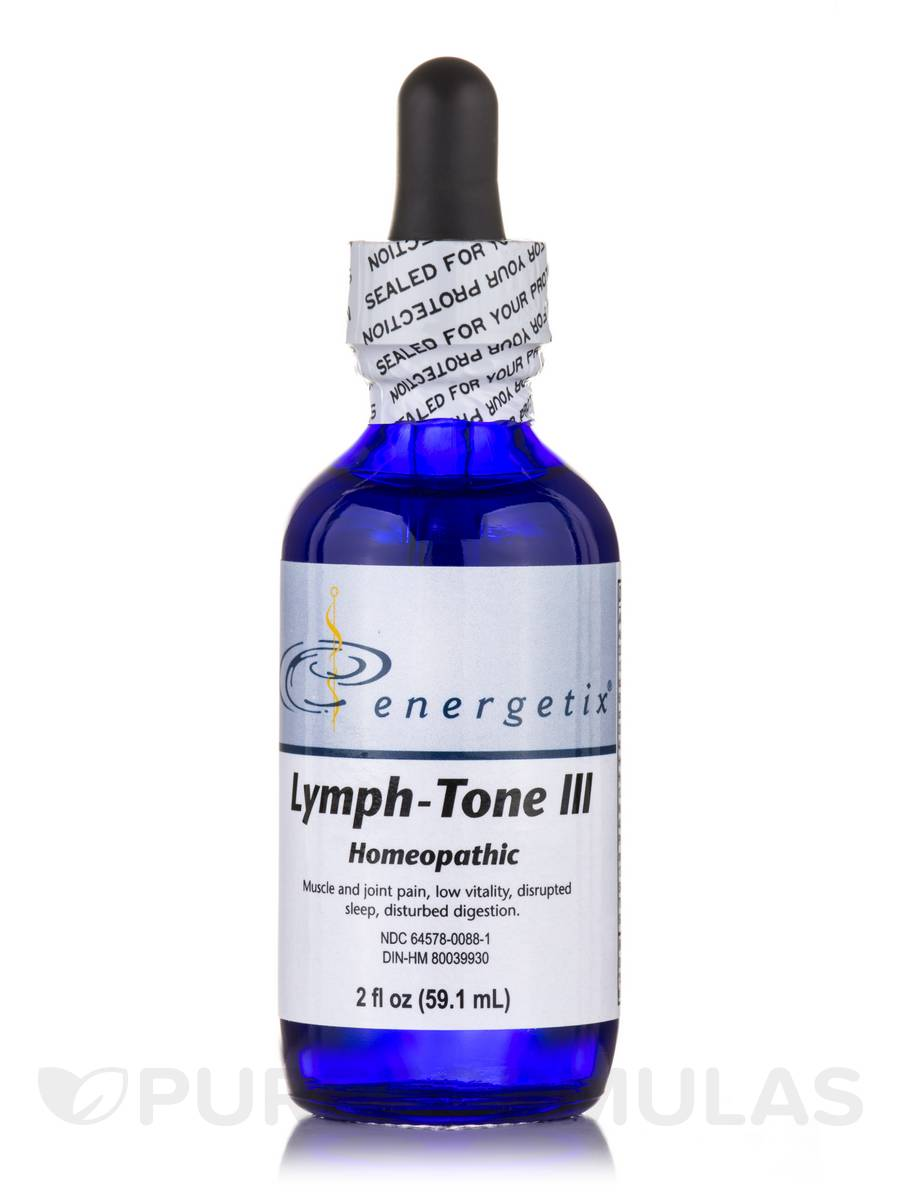 Lymph-Tone III (Compensatory) - 2 fl. oz (59.1 ml)