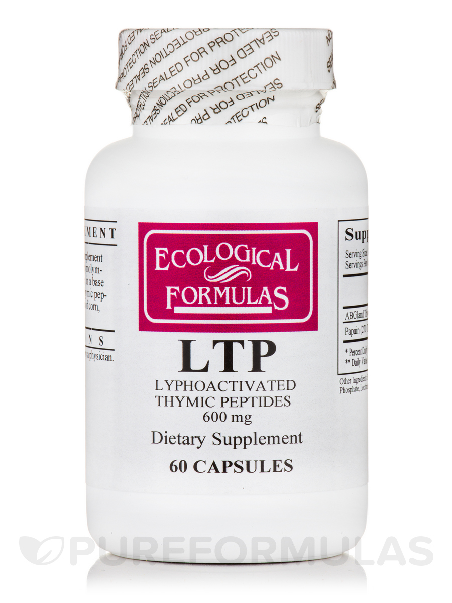 Lyphoactivated Thymic Peptides LTP - 60 Capsules