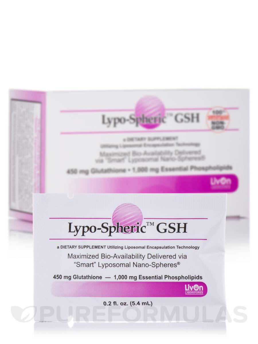 Lypo-Spheric™ GSH - 30-Packet Carton