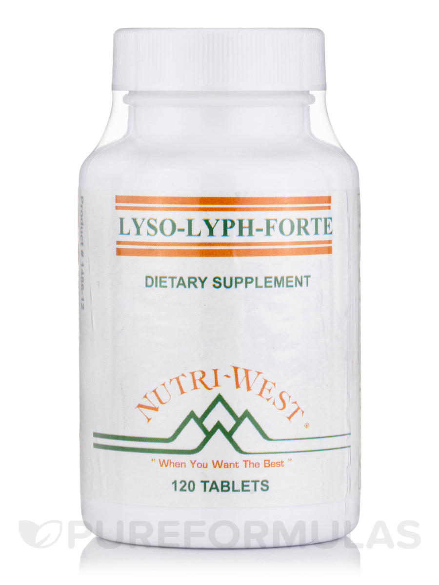 Lyso-Lyph-Forte - 120 Tablets