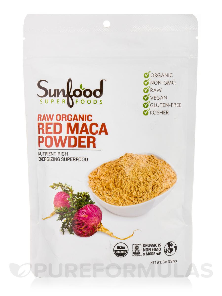 Red Maca Powder - 8 oz (227 Grams)