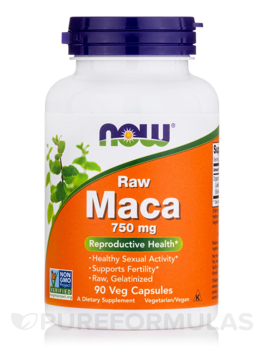 Maca (Raw) 750 mg - 90 Vegetarian Capsules