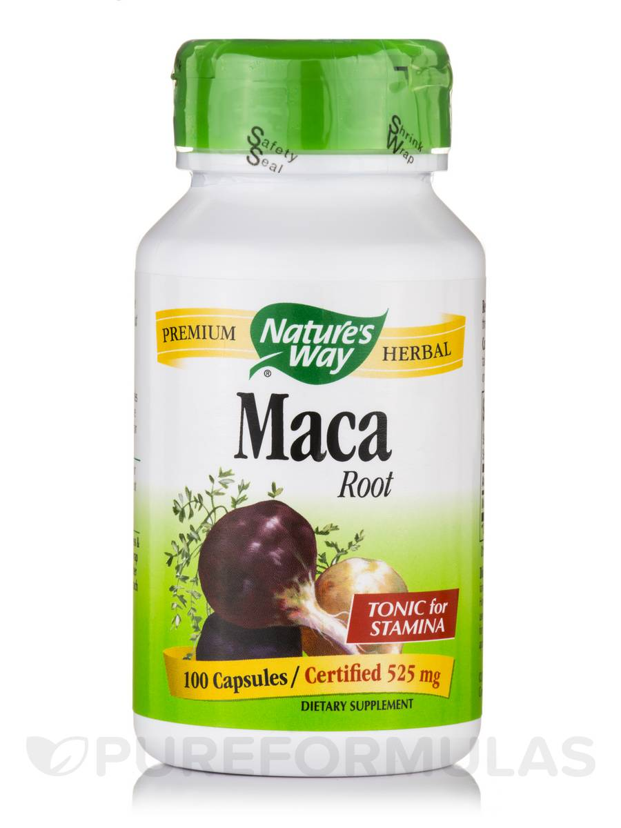 Maca Root 525 mg - 100 Capsules