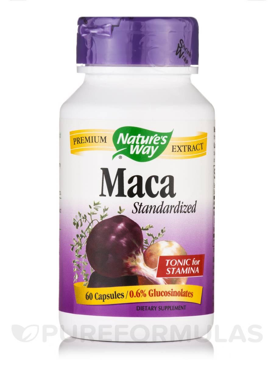 Maca Standardized - 60 Capsules