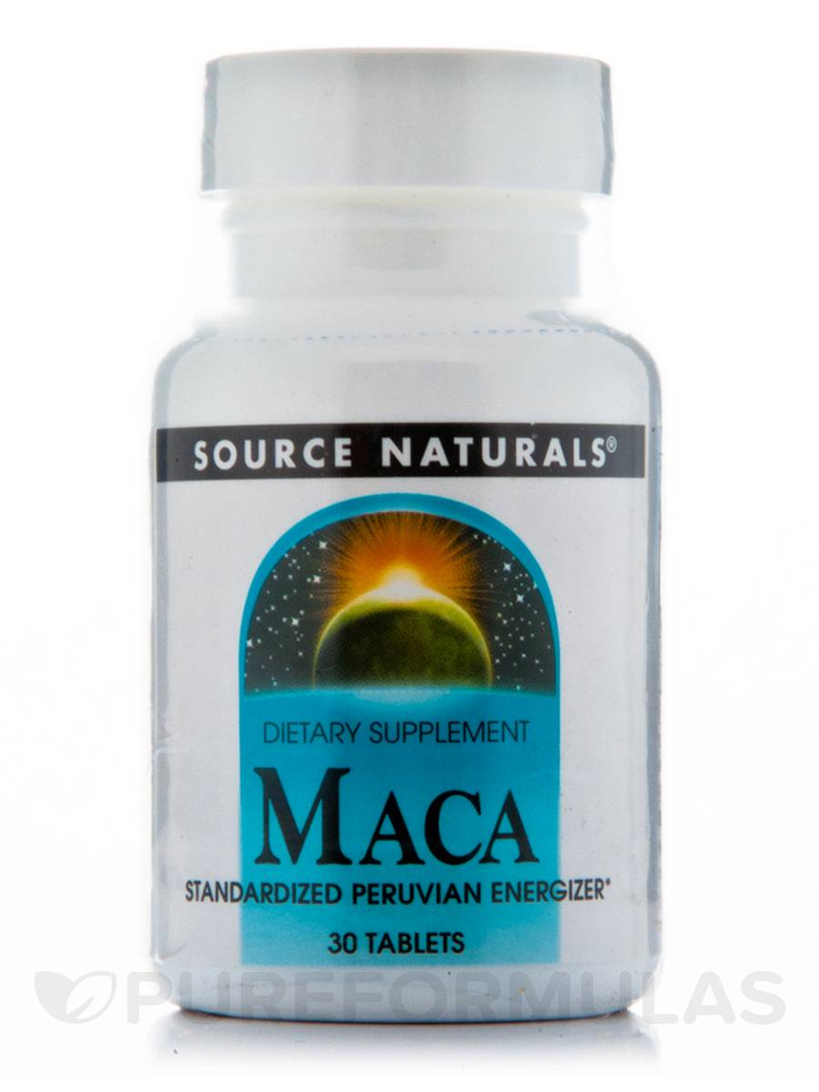 Maca Standardized Peruvian Energizer - 30 Tablets