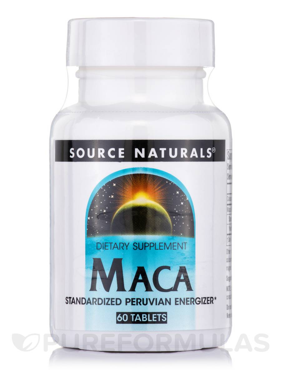 Maca Standardized Peruvian Energizer - 60 Tablets