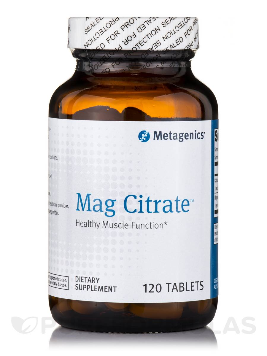 Mag Citrate - 120 Tablets